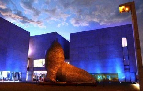 El MAR se iluminó de azul para celebrar el Día Internacional de la Mujer - BA Noticias   MAR Museo de Arte Contemporáneo de Mar del Plata   Scoop.it