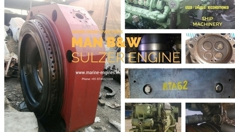 MAN B&W Engine Parts available for sale | Marine Engines Motors and generators | Scoop.it
