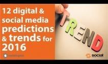 24 Predictions for Social Media and Social Media Marketing in 2017 | Surviving Social Chaos | Scoop.it