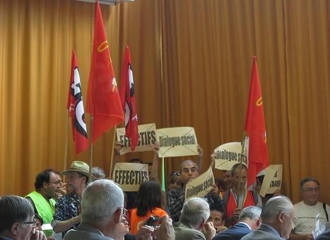 Vidéo LYFtv.com: La réunion du Conseil Général perturbée par les fonctionnaires | LYFtv - Lyon | Scoop.it