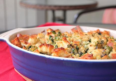 Vegan Sourdough Stuffing | My Vegan recipes | Scoop.it