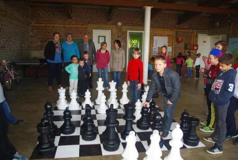 Catillon-sur-Sambre : les échecs pour lutter contre… l'échec scolaire - La Voix du Nord | Jeu d'échecs généralités | Scoop.it