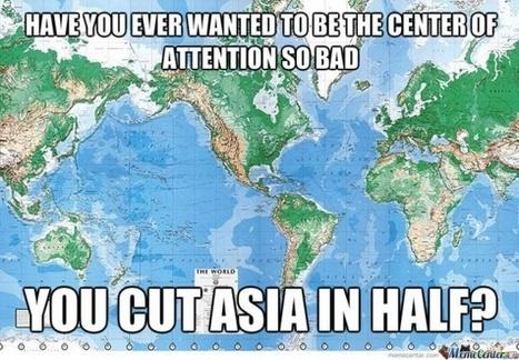 Todos los mapas que conoces están mal | GEOGRAFIA SOCIAL | Scoop.it