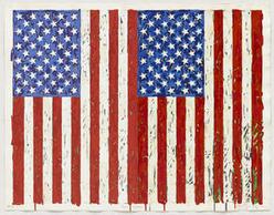 Jasper Johns Flags I Screenprint Donated to The Museum of Modern Art   Jasper Johns   Scoop.it