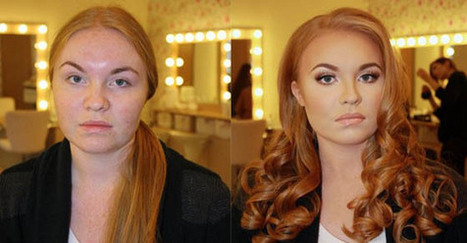 27 Fotografie Mostrano La Potenza Del Make-up. La Numero 5 è Irreale! | Religulous | Scoop.it