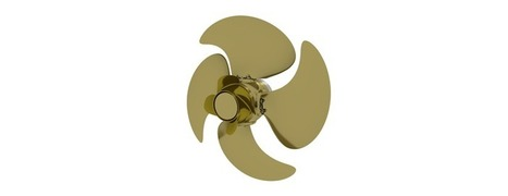 Energy-saving Wärtsilä EnergoProFin propeller cap increases efficiency of controllable and fixed pitch propellers   Marine Innovation   Scoop.it