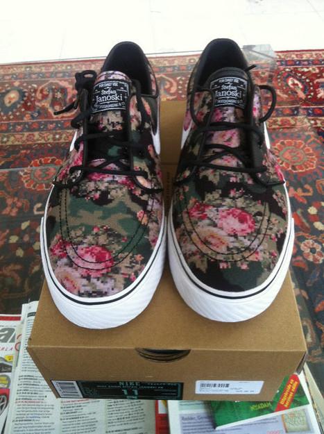 Une Nike Janoski SB à fleurs – chaussure de skate | Sneakers_me | Scoop.it
