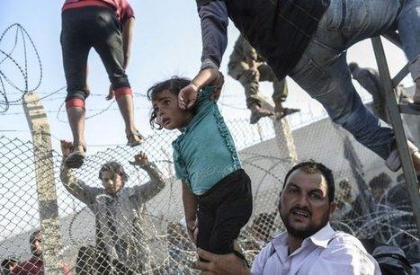 Fuir la Syrie par le trou d'une aiguille - Les photos de l'horreur | Petite revue de web | Scoop.it