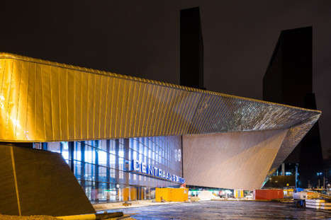 Two-Sided Railway Station in Rotterdam's Fabric | sustainable architecture | Scoop.it