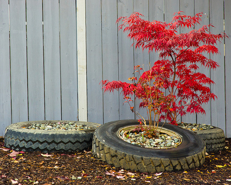 The Art Of Up-Cycling: Recycle Tires, Repurposed Tires, Be Inspired. | Make it new, make it work | Scoop.it