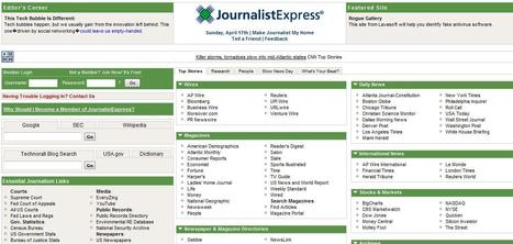 JournalistExpress: News & Research Portal for Reporters | Top sites for journalists | Scoop.it
