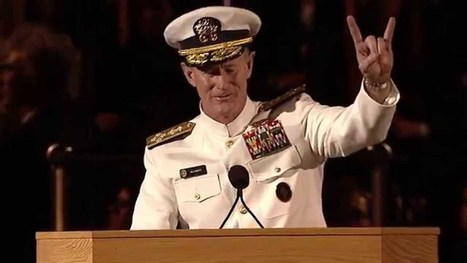 University of Texas at Austin 2014 Commencement Address - Admiral William H. McRaven - YouTube | Resilience 14 | Scoop.it