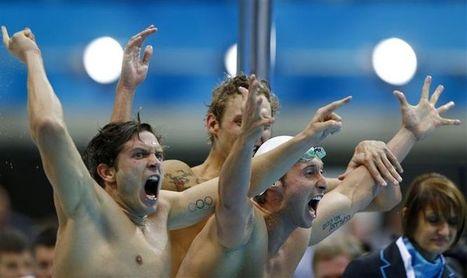Natation: le relais bleu décroche enfin sa médaille d'or | L'équipe de France de natation | Scoop.it