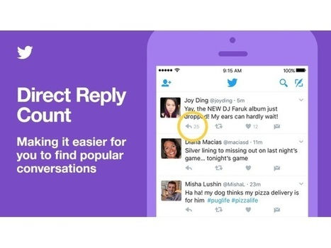 Twitter Adds Conversation Ranking, Direct Reply Count to Mobile Apps   MarketingHits   Scoop.it
