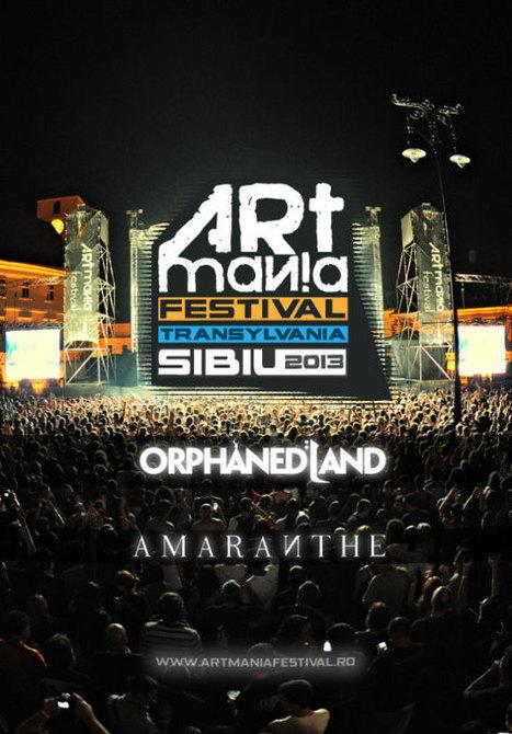 Orphaned Land si Amaranthe la Festivalul ARTmania Sibiu 2013 | Alternativ | Scoop.it
