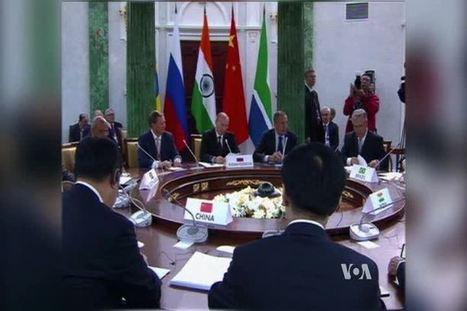 New Development Bank Likely to Top Agenda of BRICS Summit in Brazil - Voice of America | DEVELOPMENT | Scoop.it