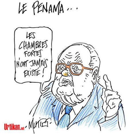 Panama Papers : Jean-Marie Le Pen nie en bloc et menace | Dessinateurs de presse | Scoop.it