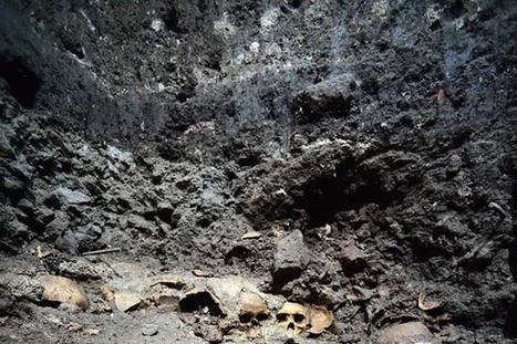 Encuentran una estantería ceremonial para cráneos en México | ArqueoNet | Scoop.it