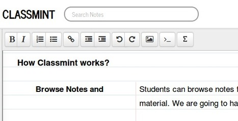Classmint.com - Create & Share Great Cornell Notes | Going Digital | Scoop.it