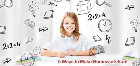 5 Ways to Make Homework Fun for Kids - Splash Math Blog | Fun math for kids | Scoop.it