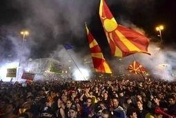 Macédoine : manifestation géante de l'opposition à Skopje - Le ... | Macédoine | Scoop.it