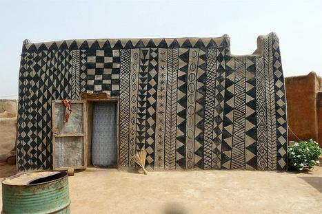 gurunsi earth houses of burkina faso | Ébène SOUNDJATA | Scoop.it