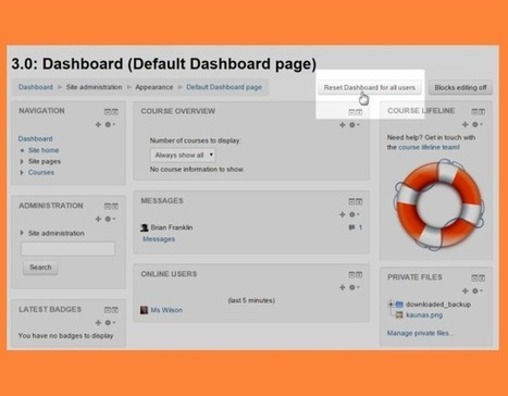 Moodle 3.0 - New features - MoodleDocs | video | Scoop.it