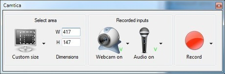 Camtica - Screen Recording Software | UI Design | Scoop.it