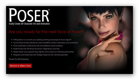 Poser Pro 2014 is going to Rock Your World! | Machinimania | Scoop.it