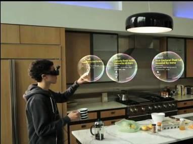 Des lunettes à réalité augmentée pour manipuler les objets en 3D | Technologies du bonheur | Scoop.it