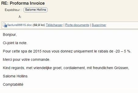 Nouvelle vague de mails malveillants de type ransomware   Sécurité des systèmes d information   Scoop.it