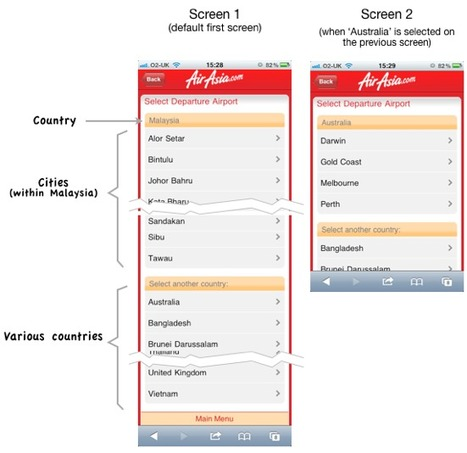 Mobile Form Design Strategies | UX Booth | QRcodes | Scoop.it