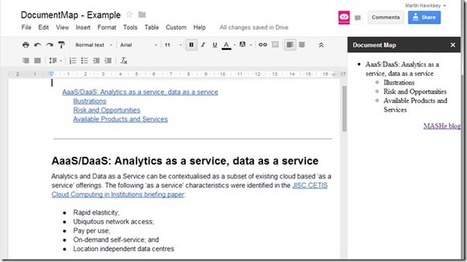 Playing with Google Docs sidebar using Google Apps Script | Google Apps Script | Scoop.it