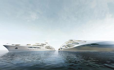 Zaha Hadid designs superyacht for Blohm + Voss | Architecture | Wallpaper* Magazine | product design | Scoop.it