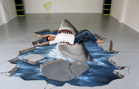 "Amazing 3D Pavement Paintings | Complex | ""Cameras, Camcorders, Pictures, HDR, Gadgets, Films, Movies, Landscapes"" 