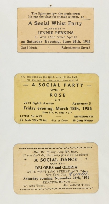 Langston Hughes' Collection of Harlem Rent Party Advertisements | U.S. History with Ms. Postlethwaite | Scoop.it