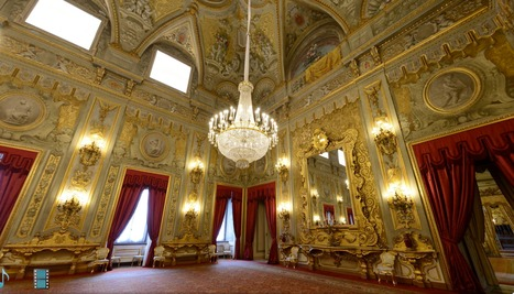 Virtual Tour of the official residence of the President of the Italian Republic | Italia Mia | Scoop.it