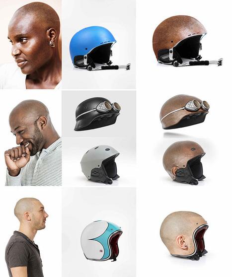 jyo john mullor models custom made human head helmets | What's new in Visual Communication? | Scoop.it