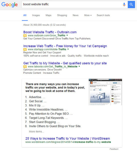Surfacing Featured Snippets From Around The SEO And SEM Industry, And What I Learned Along The Way | Online Marketing Resources | Scoop.it