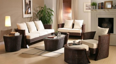 Modern interior decorating with synthetic wicker furniture | Home Decor (Wicker Furniture) | Scoop.it
