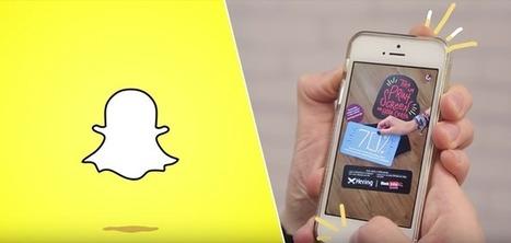 Des promotions éphémères accessibles uniquement sur Snapchat | réseaux sociaux | Scoop.it