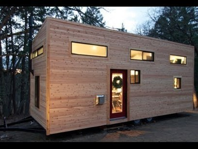 """Couple Builds Own Tiny House on Wheels in 4 Months for $22,744.06- """"hOMe"""" FULL TOUR - YouTube 