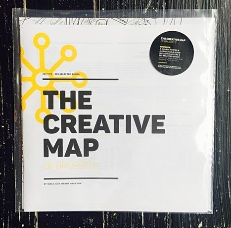 Creative Map de Bruxelles | Quatrième lieu | Scoop.it