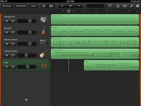 Mixdown And Share Your Musical Genius With GarageBand for iPad [iOS Tips] | Cult of Mac | iPads, MakerEd and More  in Education | Scoop.it