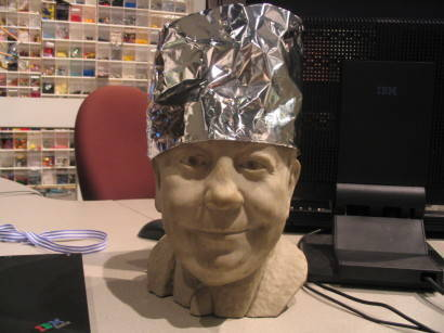 Tinfoil hats actually amplify mind-control beams - Boing Boing | Whole Brain Leadership | Scoop.it