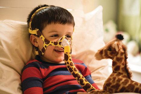 Máscara Nasal Pediátrica de ventilación no invasiva con material adaptado a los niños | medgadget | eSalud Social Media | Scoop.it