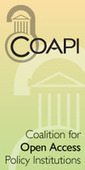 Coalition of Open Access Policy Institutions (COAPI) (SPARC) | Allistelling reading list | Scoop.it
