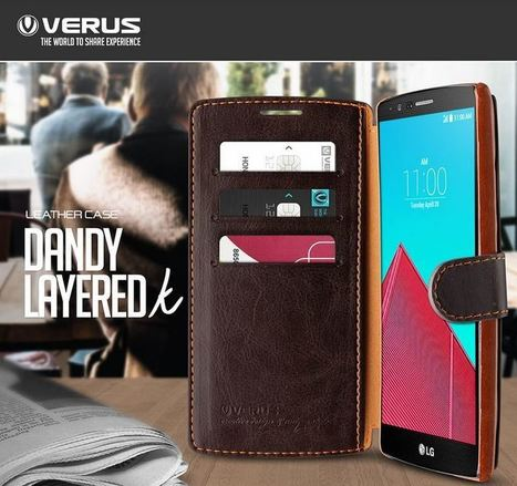 VERUS Dandy Layered Wallet Leather Case for LG G4 | Best Smartphone Cases | Scoop.it