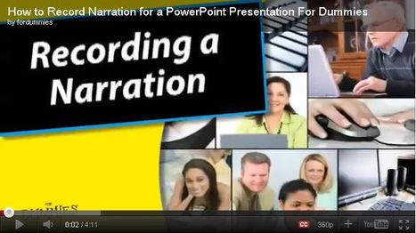 How to embed, record, insert, edit audio in PowerPoint? | Digital Presentations in Education | Scoop.it