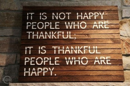 All About Living With Life: 20 Ways to Give Thanks. | All About Happiness | Scoop.it